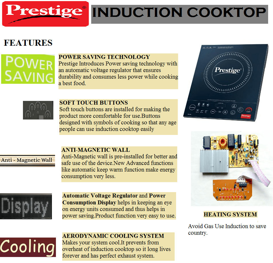Top 10 Prestige Induction cookTop in India 2017 - ReviewSellers