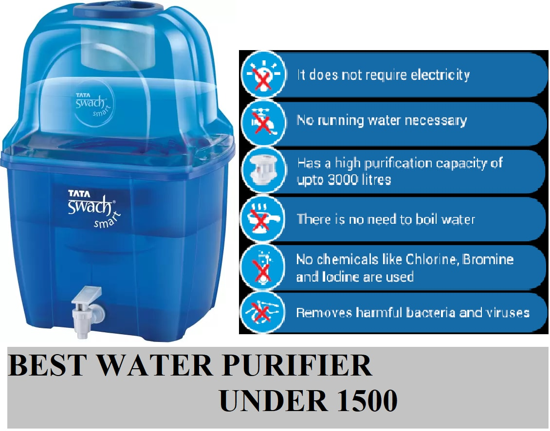 Best Water Purifier In India Price Wiseunder All Reviewsellers Dispenser Pureit Classic 9 Liter Cd Under 1500 Rs