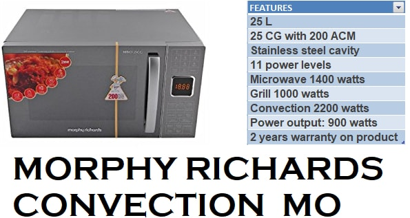 Top 4 Best Morphy Richards Microwave Oven 2017 Reviewsellers