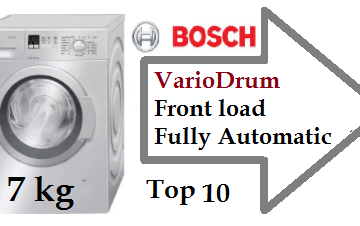 Top 11 Bosch 7 kg VarioDrum Front load Fully Automatic Washing Machine[1000 1200 RPM]-min