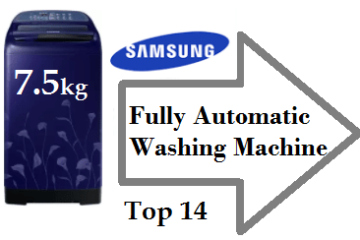 Top 14 Samsung 7.5 kg Fully Automatic Washing Machine 2018