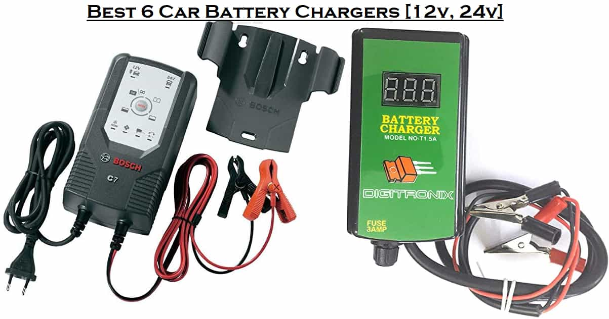 Best 6 Car Battery Chargers