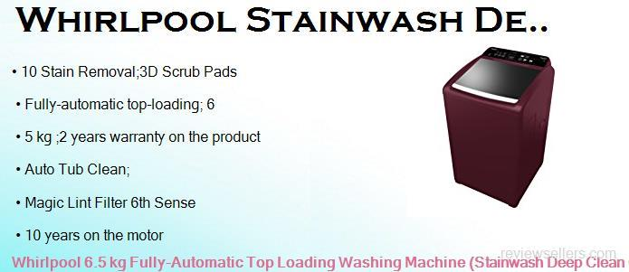 whirlpool 6 sense washing machine manual